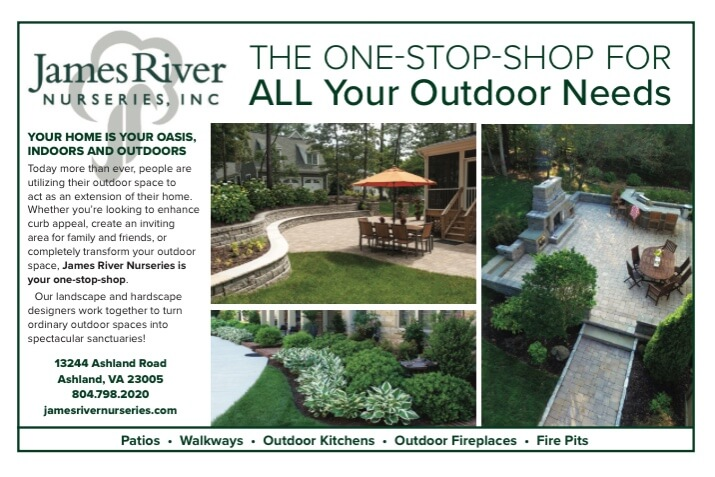 James River Nurseries - Landscaping and Hardscapes - The Latest - James River Nurseries